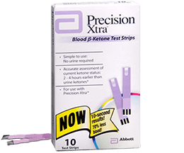 Precision Xtra - Blood Ketone Test Strips