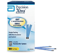 Precision Xtra - Blood Glucose Test Strips